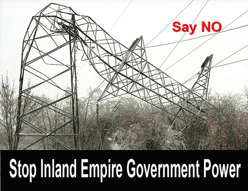 Stop Inland Empire Govenment Power